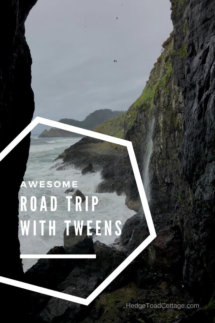 road trip tweens