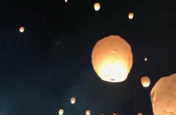 floating lanterns lantern fest experience